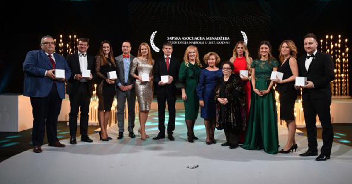 ATRIA GROUP – AWARD FOR THE BEST EMPLOYER IN CATEGORY OF MSEE BY SERBIAN ASSOCIATION OF MANAGERS (SAM)